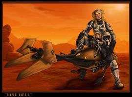 Like Hell by drawnblud