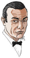 Bond....James Bond by drawnblud