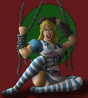 Alice....in chains. by drawnblud