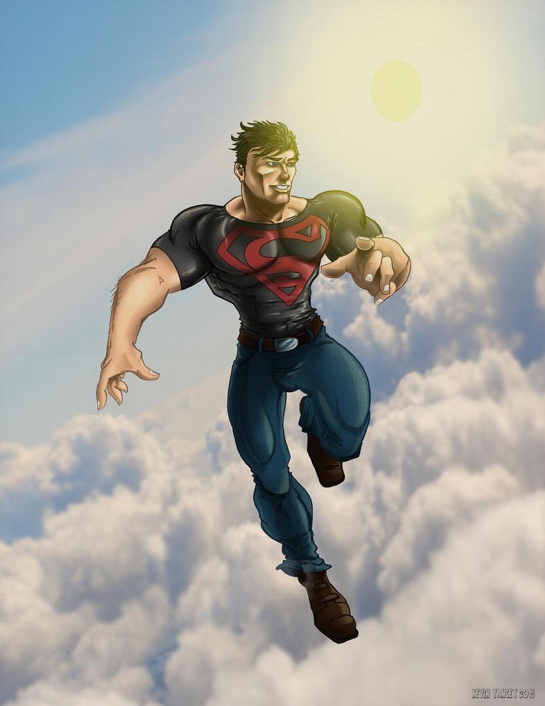 Superboy by drawnblud