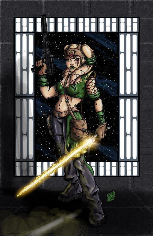 Star Wars: Shay Tilnaer by drawnblud