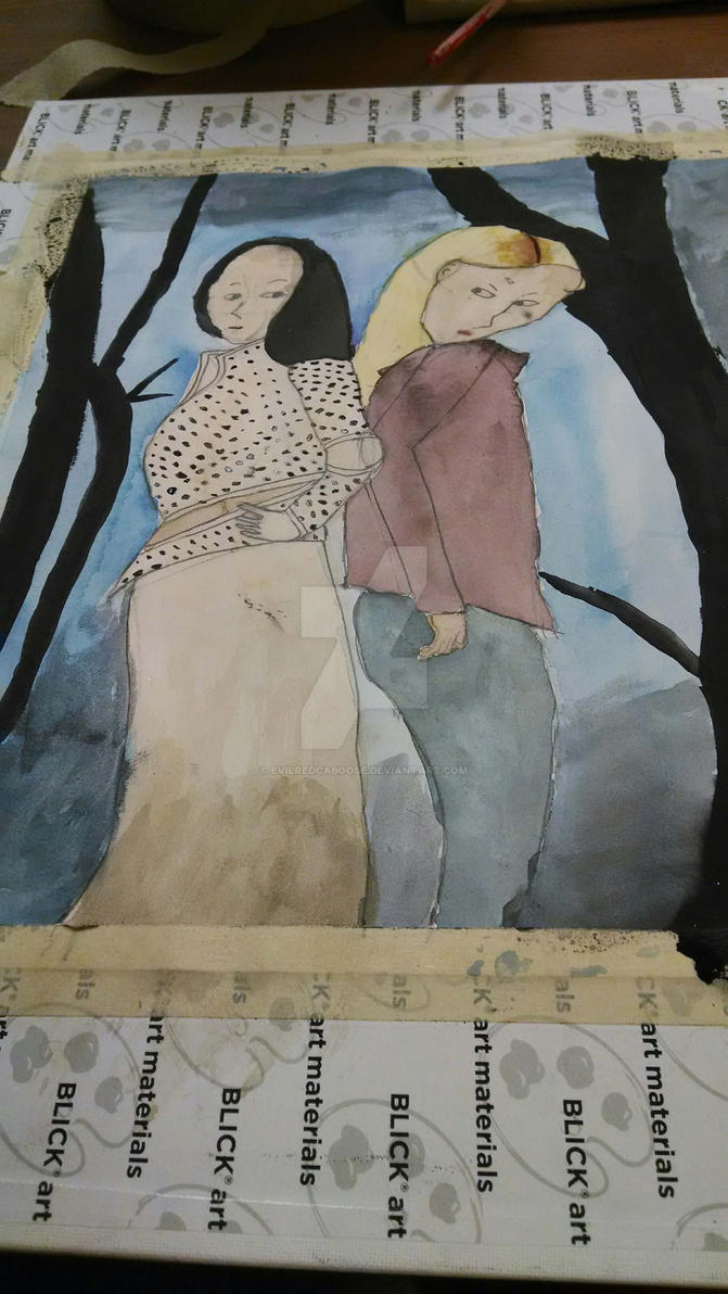 Once Upon A Time Watercolor