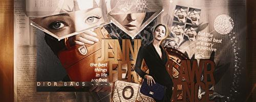 Jennifer Lawrence for Dior || Signature
