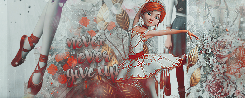 Never ever give up || Signature by MaeHK