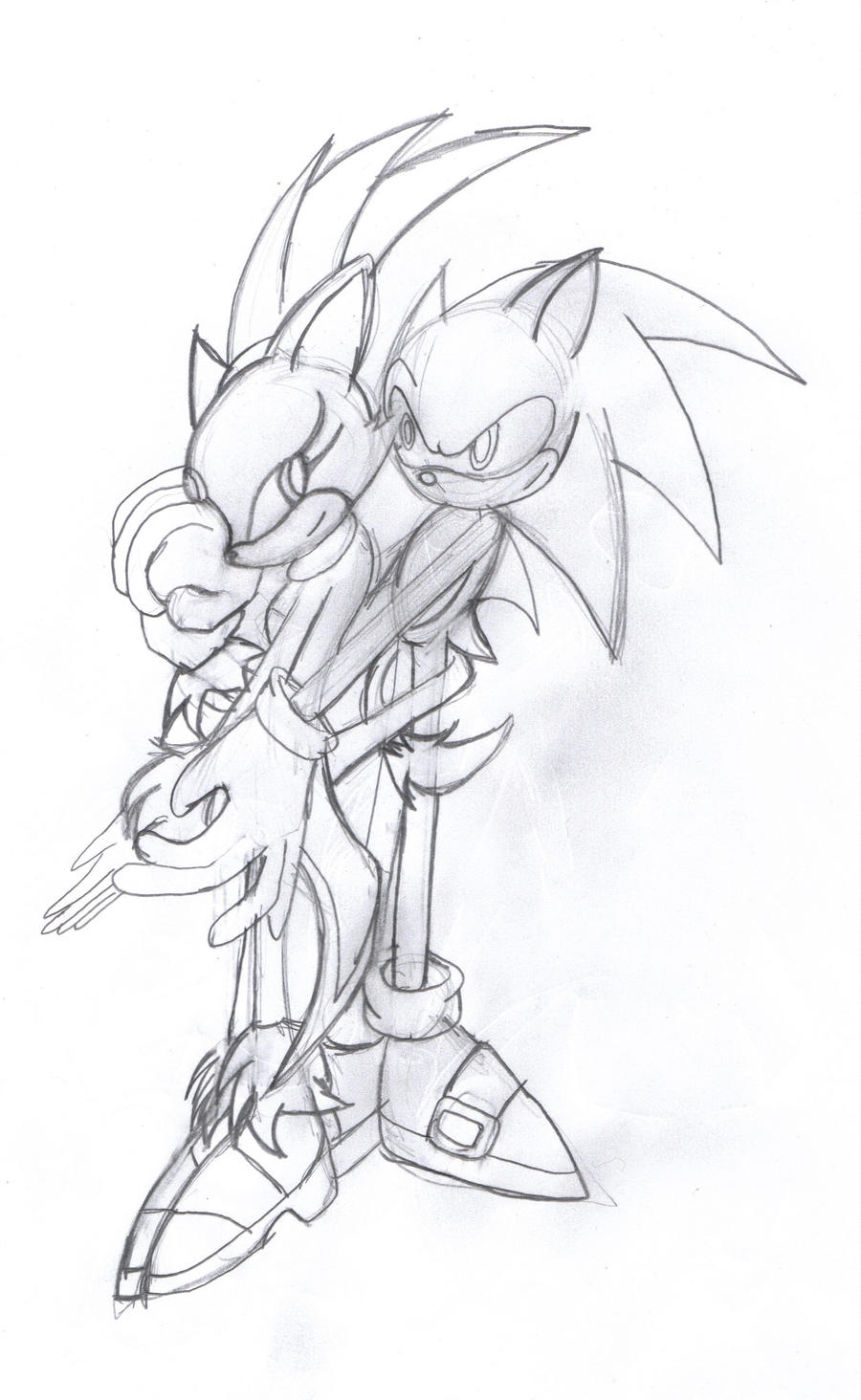sonic and blaze loving embrace by mauevig on deviantart