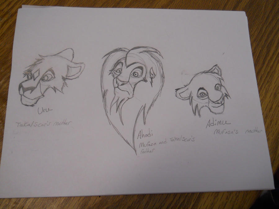 Mufasa and Scar's Parents by MauEvig on DeviantArt