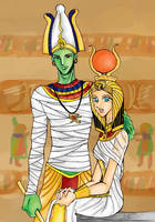 Osiris-Isis by finlandia