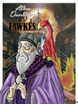 Dumbledore and Fawkes