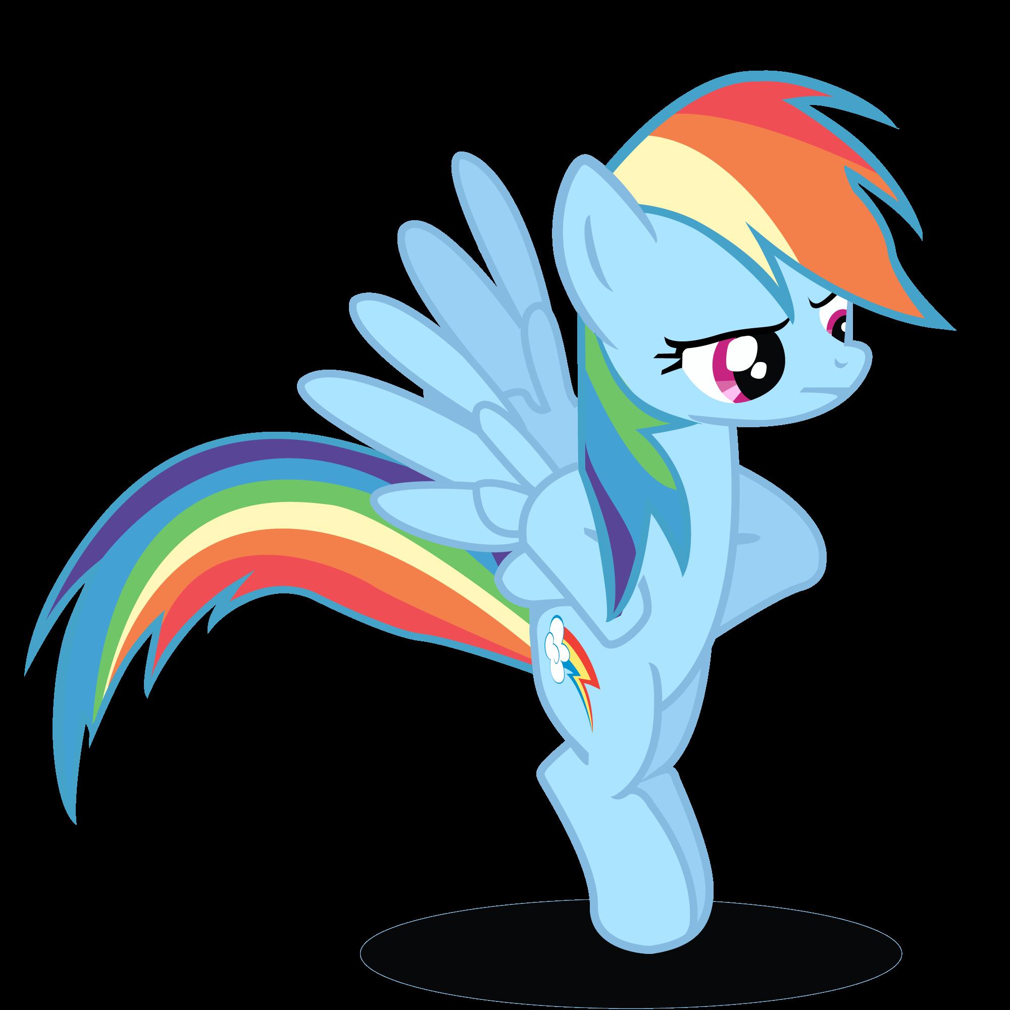Rainbow Dash Vector by...
