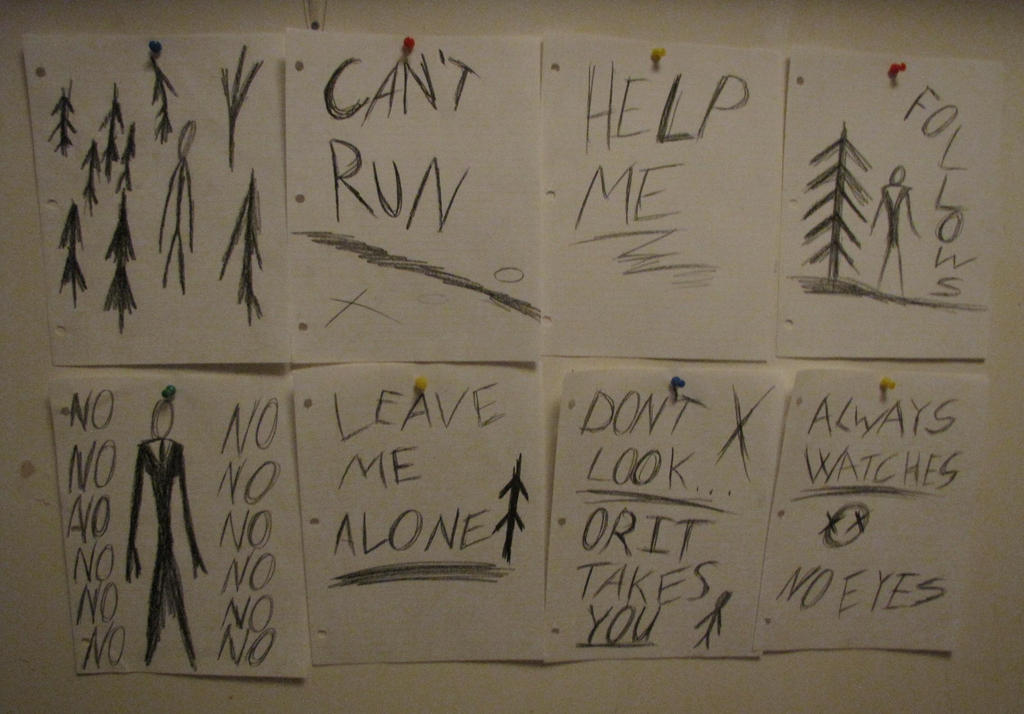 Slenderman Notes Help Me | www.imgkid.com - The Image Kid ...