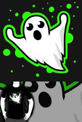 Day 1 Drawlloween: Ghost