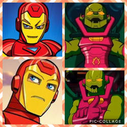 (CAT) Annihilus x Iron Man
