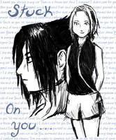 SasuSaku -  Stuck on You by Fisume