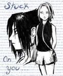 SasuSaku -  Stuck on You