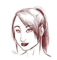 Ponytail :D by Fisume