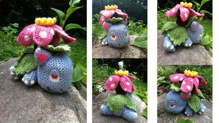 Crocheted Venusaur