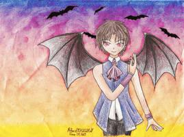 07-GHOST| Black Night's Vampire by Rhea-LOCKWING