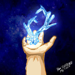 Original| Crystal Heart by Rhea-LOCKWING