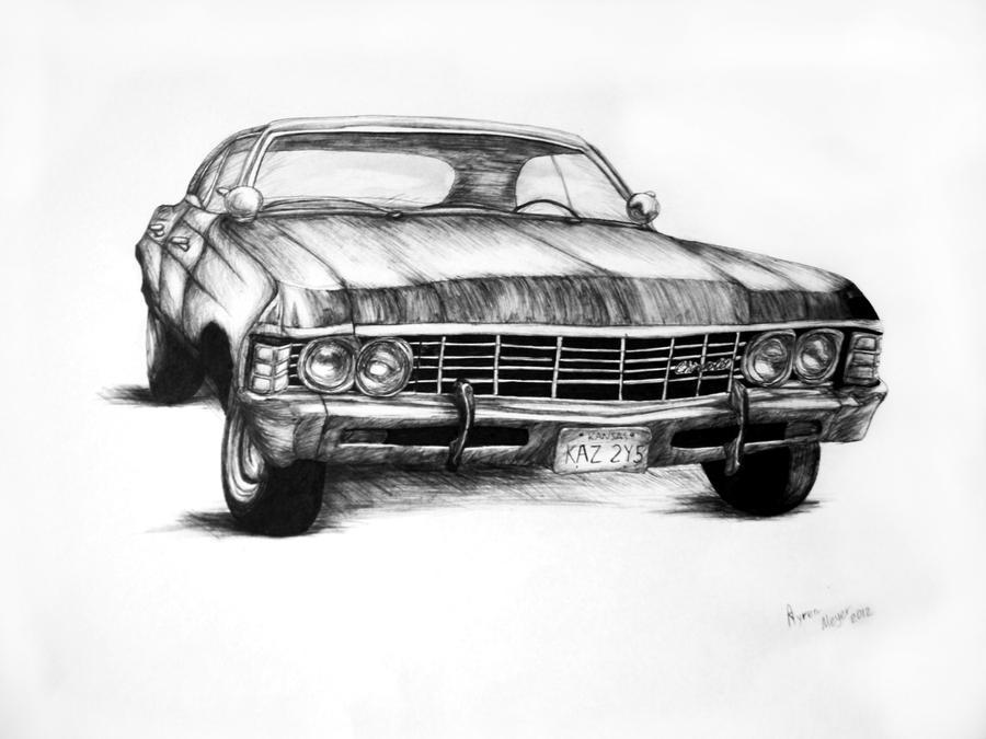 Chevrolet Impala 1967 By Esphir