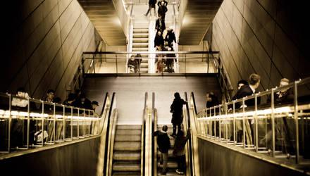 Escalators by eightcore