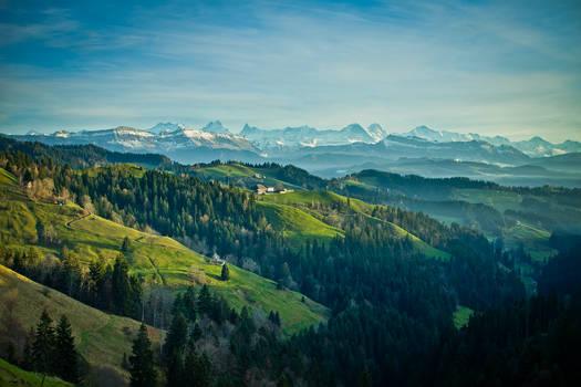Emmental, Switzerland by eightcore