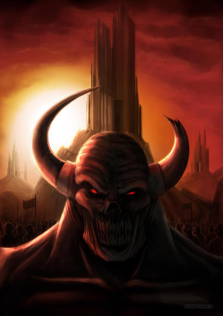 Satan's army by raven1303