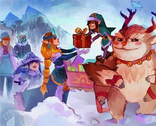 freljord christmas by zzzKEO