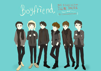 Boyfriend: I'll be there by nxaoi