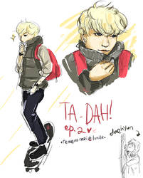 B.A.P: Zelo: TA-DAH ep2 by nxaoi