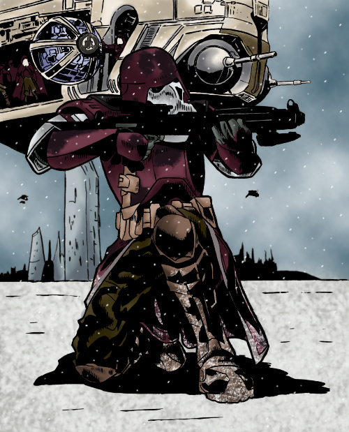 Itmons Galactic Marine Color By Soberbia Roy On Deviantart