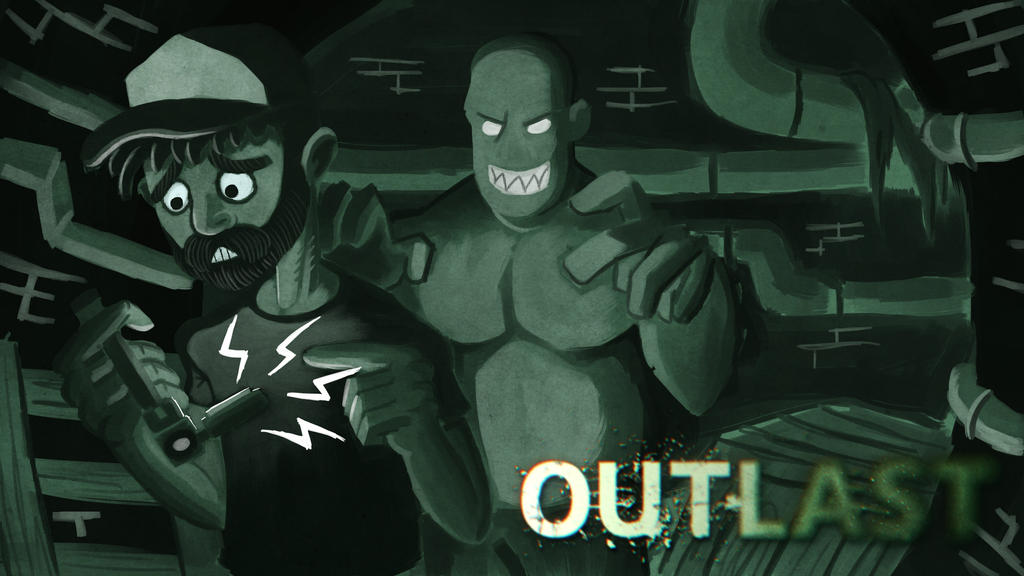 Youtube Thumbnail : Outlast by Soberbia-Roy