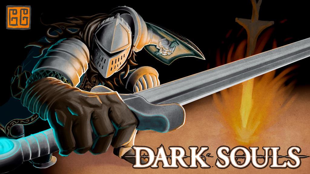 Youtube Thumbnail : Dark Souls by Soberbia-Roy
