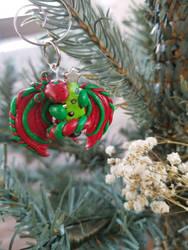 Jingles (Christmas Dragon) by AnimeDragon910