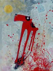 A voroslabu kutya (2009) by farkasel