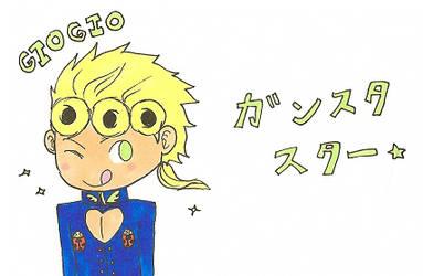 GioGio Gangster Star by DarkChibiShadow