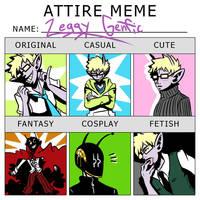 Zeggy Attire Meme by DarkChibiShadow