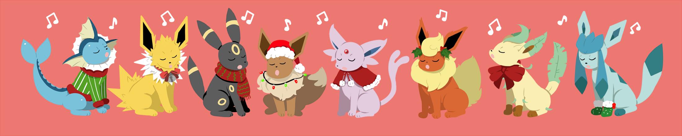 Merry Christmas Eevee by DarkChibiShadow on DeviantArt