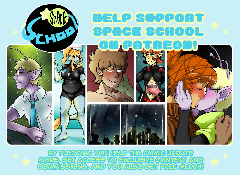 Help Support Space School on Patreon! by DarkChibiShadow