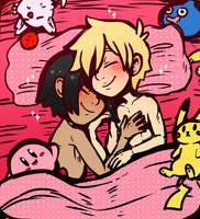 Patreon Sketch: Cuddles by DarkChibiShadow