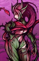Zyra Print by DarkChibiShadow