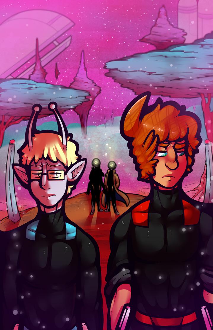 Space School: Chapter 6: Shifting Gaze by DarkChibiShadow