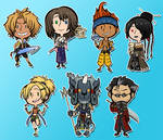 FFX STICKERS/MAGNETS/CHARMS