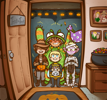 Space School Halloween 2015 by DarkChibiShadow