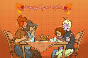 HAPPY SPACE-GIVING 2015 by DarkChibiShadow
