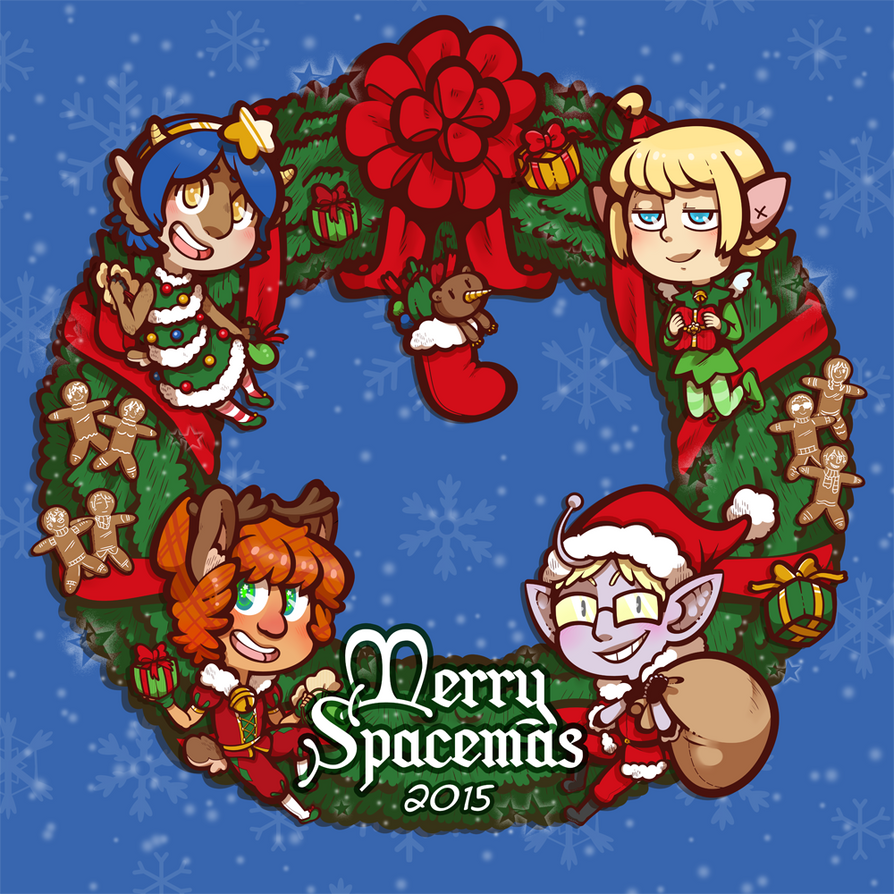 Spacemas 2015 by DarkChibiShadow