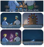 Night Tide - A ZoSan Fan Visual Novel by DarkChibiShadow