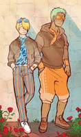 Zosan Month: Gaudy by DarkChibiShadow