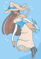 Rubber Witch by DarkChibiShadow