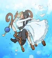 Wedding Chair by DarkChibiShadow