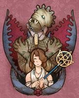 Anima and Yuna by DarkChibiShadow